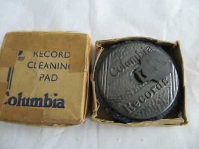 Very Nice Vintage COLUMBIA Record Cleaning Pad