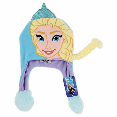 Disney Frozen Elsa Character Squeeze and Flap Fun Hat, Little Girls, Age 4-7
