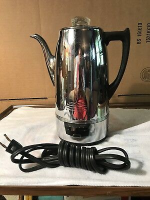 1950's Universal Coffeematic 10 Cup Electric Percolator Model 4428