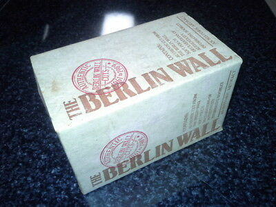 The Berlin Wall, a piece of the Berlin Wall , 1989