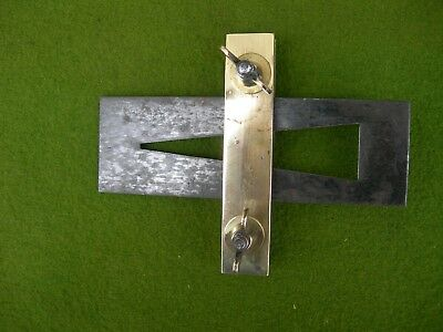 Brass & Steel Dovetail Gauge