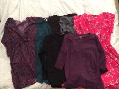 maternity dresses and tops 12-14