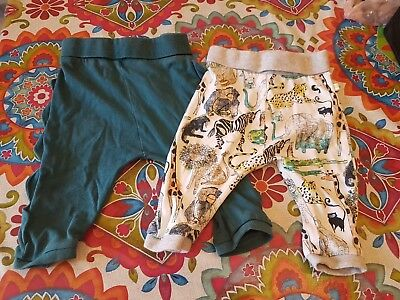 Next Baby Boys Trousers 6-9 Months x2