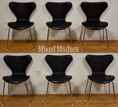 Excellent 6 Black Leather And Chrome Dining Chairs Mid Century Modern Camellatalisay Diy Chair Ideas Camellatalisaycom