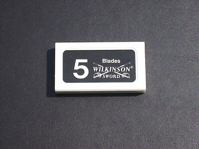 Vintage Wilkinson Sword Razor Blades 10 Packs of 5 England NOS Wrapped Unopened