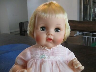 Madame Alexander Cherub Baby Doll with Tag on Dress