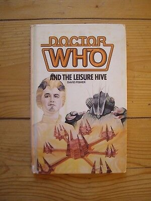 Doctor Who and the Leisure Hive *1982 W H ALLEN HARDBACK*