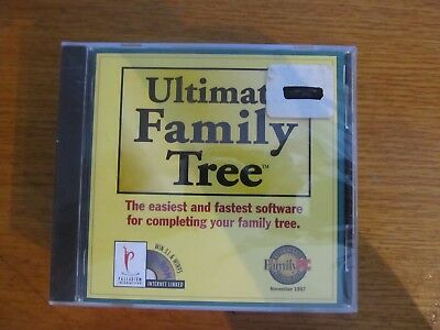 Ultimate Family Tree for PC genealogy software