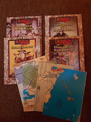 AD&D/D&D/Advanced Dungeons&Dragons -Amigo Forgotten Realms - Kapagnen Set -