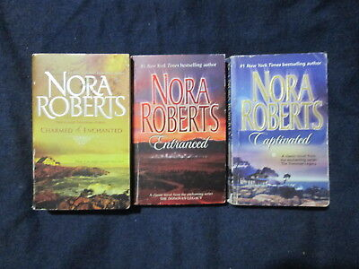 Nora Roberts COMPLETE Donovan Legacy Series #1-4 PB Books Captivated Charmed P51