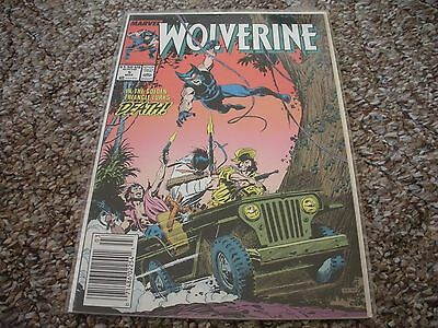 Wolverine #5 (1989 1st Series) Marvel Comics NM/MT