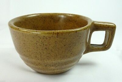 Western Stoneware Monmouth Cup Brown Speckle Mojave Movaji