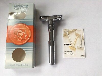 New Merkur Solingen Futur Adjustable Safety Razor DE