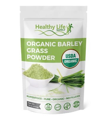 Organic Barley Grass Powder Certified USDA Organic Non GMO Pure Non Irradiated