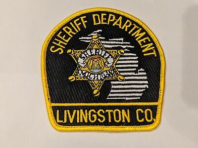 NEW: Livingston County MICHIGAN Sheriff (Police) Department Patch