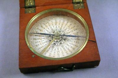 Good Quality Vintage Antique Boxed Compass