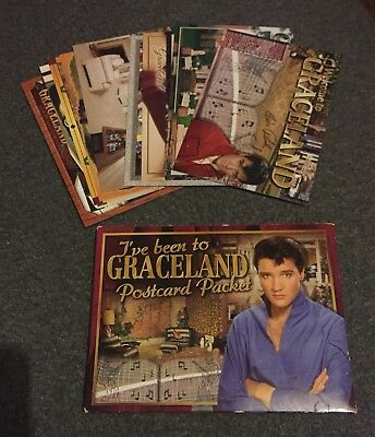 Elvis Presley Graceland 10 Postcard Set 2005