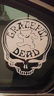 Grateful Dead SYF Steal Your Face Sticker Decal Dancing Bears!