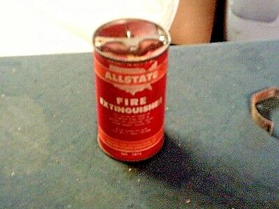 Vintage Allstate Fire  Extinguisher