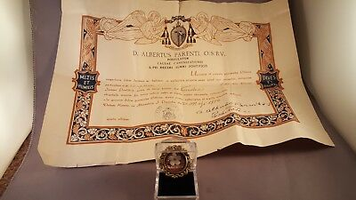 Relic St. Plus X with Document, Presentation Case