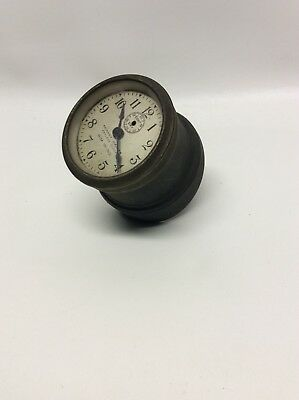 1910 Phinney Walker Keyless Rim Wind Clock Ford Model T 1910