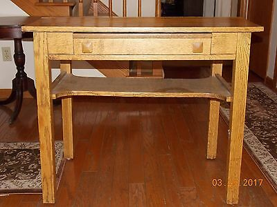Cadillac Desk Table - Cadillac Desk Co. - Detroit, MI - Patented 1908