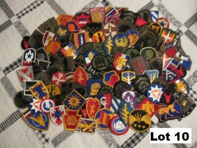 Military Patches Lot of 100 plus, Variety  (Lot 10)