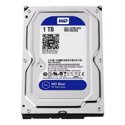 "Disque dur Western Digital Blue WD10EZRZ 3.5"" 1 TB Sata III 5400 rpm Buffer 64 M"