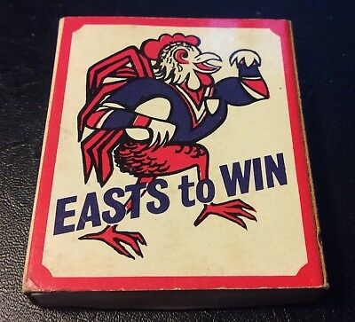 Sydney Roosters Matchbox. Easts To Win. Rugby League Vintage Collectable