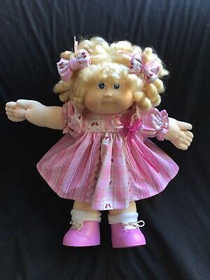 Cabbage Patch Kid Doll Dress Set Rose Pink/ Tiny Butterfly.no Doll.