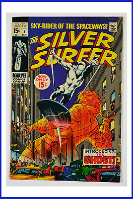 1969 Marvel The Silver Surfer The Ghost Vol. 1 #8 VG+ Comic Book