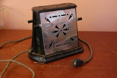 Vintage Sterling Drop Side Toaster – Circa 1936 – Working Condition Type AEUE
