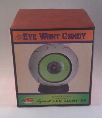 EYEBALL LED LIGHT UP - EYE WANT CANDY brand from Cracker Barrel HALLOWEEN DECOR