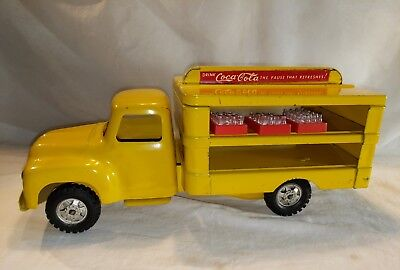 Vintage First Year Buddy L 1955 Coca-Cola Delivery Truck