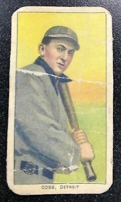 1909-11 T206 Ty Cobb Card,Bat On Shoulder,ungraded