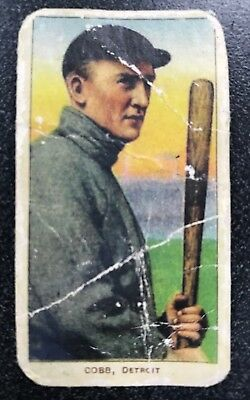 1909-11 T206 Ty Cobb Card,Bat Off Shoulder,ungraded