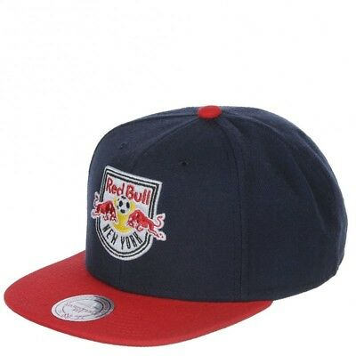 N.Y. Red Bull Homme Snapback Football Marine Mitchell & Ness