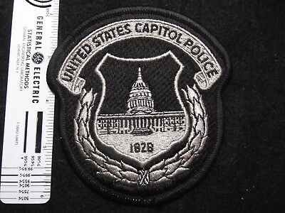 Federal Washington DC Capitol Police patch SRT Special Ops subdued grey rare HTF