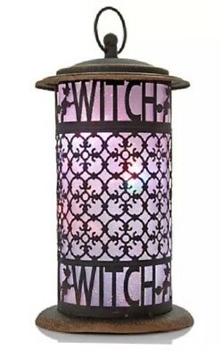 Halloween Color Changing LED Witch Lantern NEW