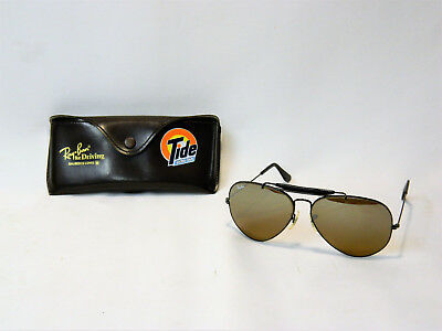 Rare Vintage Ray Ban For Driving Glasses Tide Racing Team Promotional Glasses!