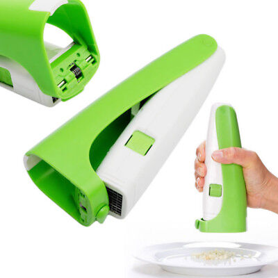 NEW Garlic Cutter Magic Grater Garlic Mincer Squeeze Garlic Cuber Press Chopper