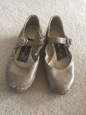 Childrens Tap Shoes Size 10.  Paul Wright Brand.  Need Re-colouring