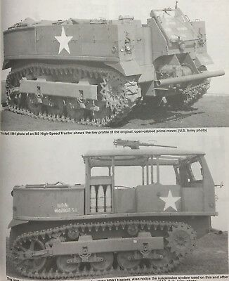 Orig WWII 13 Ton M5 High Speed Tractor G162 Maintenance Manual Engine Clutch TM