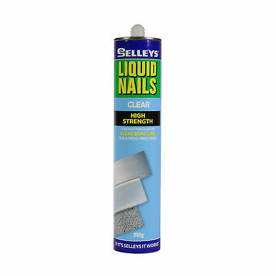 Selleys 250g Clear Liquid Nails Construction Adhesive - AUSTRALIA BRAND