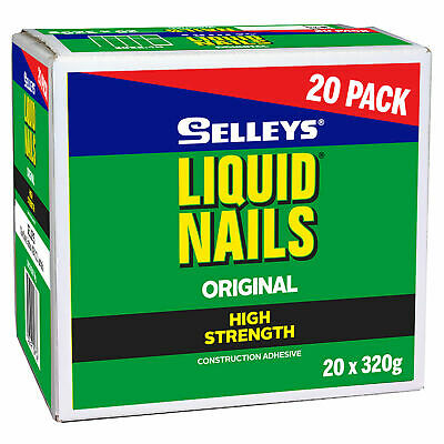 Selleys 320g Liquid Nails - 20 Pack - AUSTRALIA BRAND