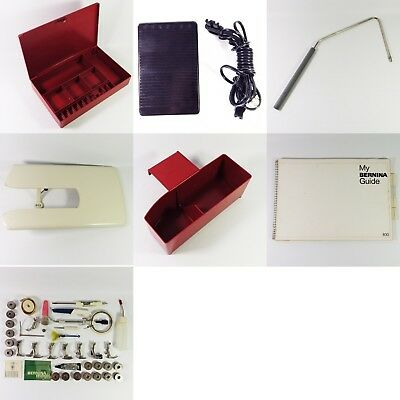Bernina Record 830 Accessories Tray Feet Manual Free Arm Table Foot Control Case