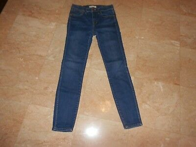 Madewell High Riser SKINNY Ankle Length Jeans in Surfside Wash, SIZE 26  $147