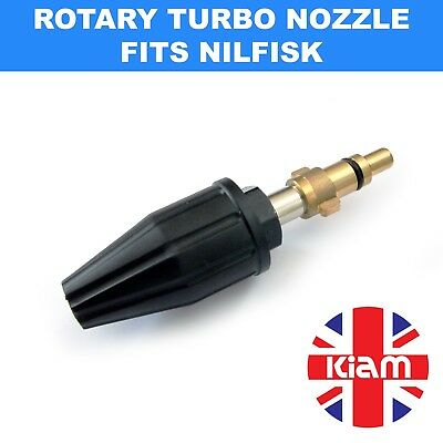 Rotary Turbo Nozzle Dirtblaster for Nilfisk Alto Pressure Washer - 2200 PSI