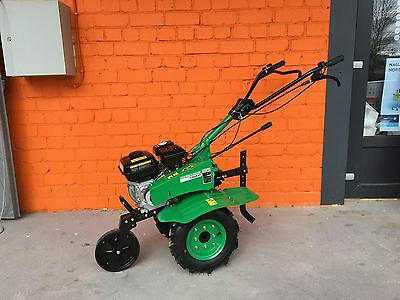 Cultivator Tiller Walk-behind Tractor 7.5HP with wheels and ploughs warranty