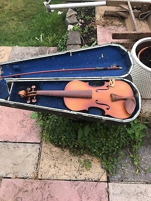 Interesting Old Violin